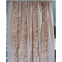 Ruffled Curtains - custom order for Deborah Williams