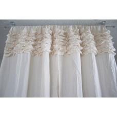 Ruffled Curtains - Horizontal Ruffles