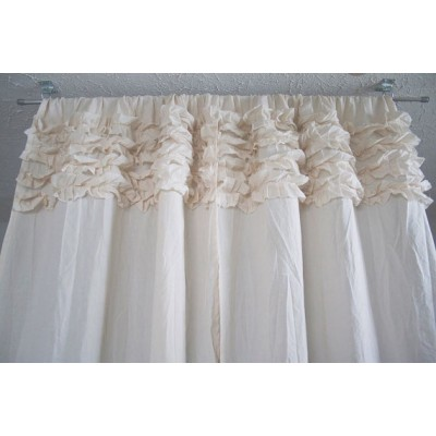 Ruffled Curtains - Horizontal Ruffles