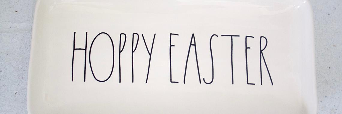 Rae Dunn Hoppy Easter